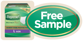 Depend Free Sample Sticky